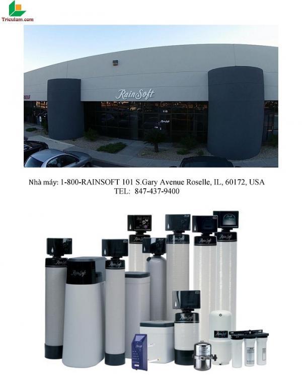 Hệ thống lọc tổng cao cấp Rainsoft - Nhập khẩu USA