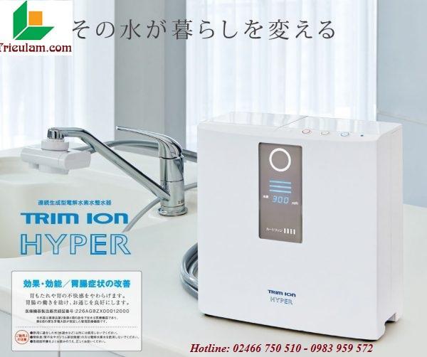 Máy lọc nước điện giải Ion Kiềm TRIM ION - JAPAN