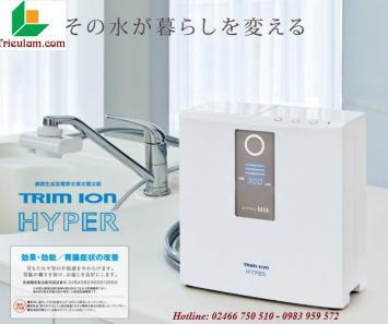 Máy lọc nước điện giải ion kiềm Trim ion Hyper